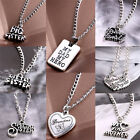 Fashion Sister Mother Daughter Dad Grandma Family Pendant Necklace Jewelry EW