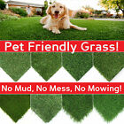 CLEARANCE+Artificial+Grass+Lawn+Quality+Realistic+Natural+Fake+Garden+Turf+CHEAP