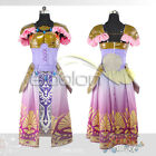 EE0079AM Zelda Princess Zelda Cosplay Costume