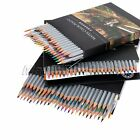Assorted 24/36/48 Colors Water Colour Artist Drawing Sketching Pencils & Brush
