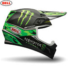 Bell 2016 Mx9 Monster Energy Camo Pro Circuit Replica Motocross Enduro Helmet