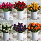 9 Heads Artificial Silk Tulip Flowers Bridal Hydrangea Party Wedding Decor Home