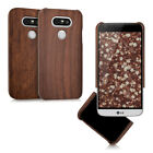 kwmobile WOOD COVER FOR LG G5 CASE BACK HARD NATURAL MOBILE PHONE PROTECTIVE