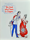 THE GIRL WHO CAME TO SUPPER BROADWAY SOUVENIR PROGRAM - JOSE FERRER,