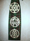 """HAND-CRAFTED  """"CHRISTMAS BOW""""  WALL DECORATION FULL SIZE"""