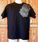 Metal Mulisha Gray Shield Logo Skull Lion Black T Shirt Box31