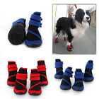 Hot Sell Waterproof Cloth Big Dog Rain Boots Pet Shoes for Dogs Size M L XL XXL