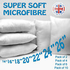 Soft Soft Microfibre Cushion Pad Inner Scatter Filler Made in the UK