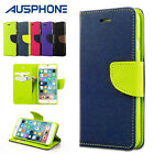 NEW Premium Flip Leather Gel Wallet Cover Case for Apple  iPhone 6 6S 5S SE