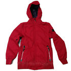 ADIDAS Women's 2016 Snowboard Snow Red PUFFLICIOUS JACKET