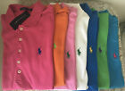 NWT Ralph Lauren T-shirt blue orange white black polo women shirt pink red pony