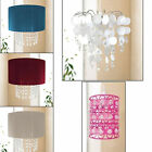Urban Life Easy Fit Pendant Shade Light Hanging Crystals Chandelier New Gift