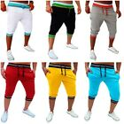 Fashion Korean Men's Jogger Cargo Casual Short Pants Sportwear Shorts Pants XS-L
