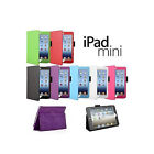 Leather Folio Stand Case For Apple iPad Mini