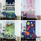 Catherine Lansfield Kids Wall Art Decorative Wall Mural Football Dino Space Owls