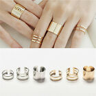 Hot Sale New 3Pcs/Set Fashion Top Of Finger Adjustable Open Ring Jewelry GiftLAC
