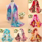 Fashion Women Girl Hot Chiffon Scarf New Peony Printing Shawls Scarves 160 50cm