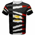 Eygpt Egyptian Country National Flag Beast Ripped Pattern Men's T-shirt Tees BW1