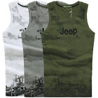 Brand New AFS JEEP Men Fashion Cotton Vests Under Camouflage Tops Muscle Shirts