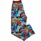 Pyjamas Mens Cotton PJs Sleep Pants Licensed Spiderman (Sz S-XXL) Sz S M L XL XX