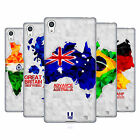 HEAD CASE DESIGNS GEOMETRIC MAPS SOFT GEL CASE FOR SONY PHONES 2