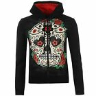 OFFERTA Banned Sugar Hoody Ladies Red Roses