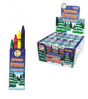 Pack of 4 Christmas Wax Crayons Party Bag Stocking Filler Gift
