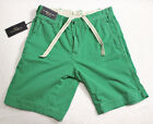Polo Ralph Lauren Men Green relaxed fit rugged cotton shorts size 30