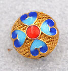 8x12mm cloisonne beads Buddhist loving character Jewelry accessories gifts #1