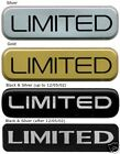 Badge LIMITED Jeep Grand Cherokee WJ OEM EMBLEM
