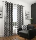 New Melbourne Fully Lined Ring Top / Eyelet Curtains - 2 Colours - 9 Sizes