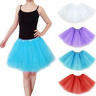 Adults Teens Girl Tutu Ballet Skirt Tulle Costume Fairy Party Hens Nigh LAU