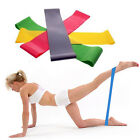 Elastic Resistance Loop Bands for Yoga Pilates ABS Exercise Workout Fitness