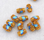 10x15mm cloisonne beads Passepartout Jewelry accessories gifts # 16