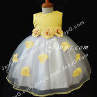 #TFY7 Baby Girl Christening Communion Birthday Formal Formal Party Gown Dress