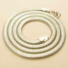 """4MM W. 925 STERLING SILVER EP SNAKE CHAIN NECKLACE 17 1/4"""",  18"""" , 23 1/4"""" INCH"""