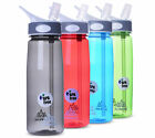 750ML Outdoor Hiking Camping Bottle Travel Straw Water Bottle Drinking Cup New