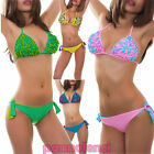 Bikini costume TRIANGLE bicoloured two pieces swimwear woman swimwear B3033