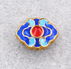 10x14x6mm cloisonne beads Life Flower Tibet amulets Jewelry accessories gifts #3