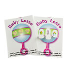 Внешний вид - Baby Shower Fun Party Game BABY LOTTO PICKLE CARDS  Lottery Raffle LOT