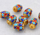 13x16mm cloisonne beads Buddhist Passepartout Jewelry accessories gifts #24