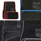 4 Piece Heavy Duty Universal Black Carpet Car Mat Set Non Slip Grip Van Mats