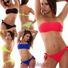 Bikini woman swimwear band brazilian two pieces bandeau new YQ8939