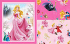 DISNEY SLEEPING BEAUTY : 100% LICENSED cottons by the 1/2 metre or panel