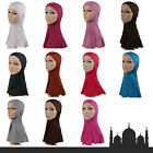 Muslim Scarf Stretchy Turban Full Cover Inner Hijab Caps Islamic Shawl Headwrap