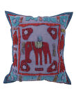 Indian PatchWork Handmade Home Decor Ethnic Square Animal Print Cushion Cover