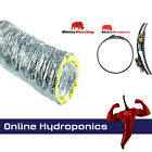 Rhino Accoustic Sono Ducting 5m and 10m Boxed and Including 2 Jubilee Clamps