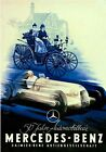 Vintage Mercedes Benz 50th Anniversary Advertising Poster  A3 Print