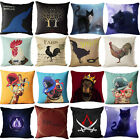 Cat The Lord Of The Rings Cotton Linen Pillow Cases Cushion Covers Pillow Cover