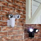 21.5CM BATTERY POWERED OUTDOOR GARDEN PATIO SECURITY WALL LED FLOOD LAMP LIGHT